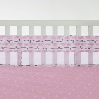 Nautica Kids® Mix & Match Secure-Me Whale Crib Liner