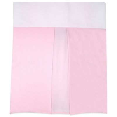 Nautica Kids® Mix & Match Crib Skirt in Pink
