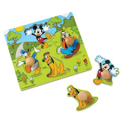 Disney® Mickey Mouse and Friends Wooden Jumbo Knob Puzzle