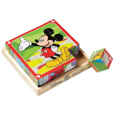 Disney® Mickey Mouse Clubhouse Wooden Cube Puzzle
