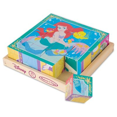 Disney® Princess Wooden Cube Puzzle