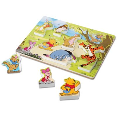 Disney® Winnie the Pooh Wooden Chunky Puzzle