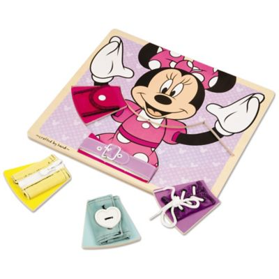 Disney® Minnie Mouse Wooden Basic Skills Board