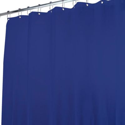 Harbor Home Tinted Shower Curtain Liner in Indigo