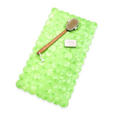 Twist of Citrus Bath Mat in Lime
