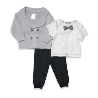 Wendy Bellissimo™ Size 9M 2-Piece Cowl Neck Sweater and Pant Set in Grey