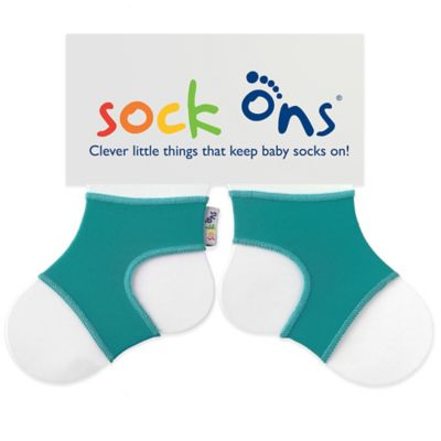 Sock Ons® Size 6-12M Classic in Turquoise