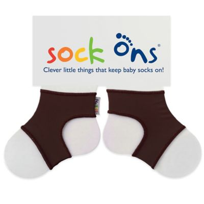 Sock Ons® Size 6-12M Classic in Chocolate