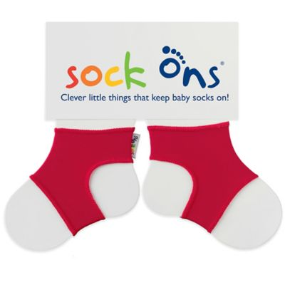 Sock Ons® Size 6-12M Classic in Red
