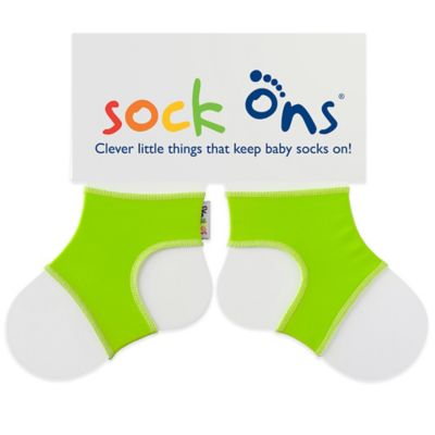 Sock Ons® Size 0-6M Classic in Lime