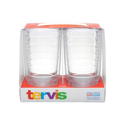 Tervis® 16 oz. Tumbler in Clear (Set of 2)