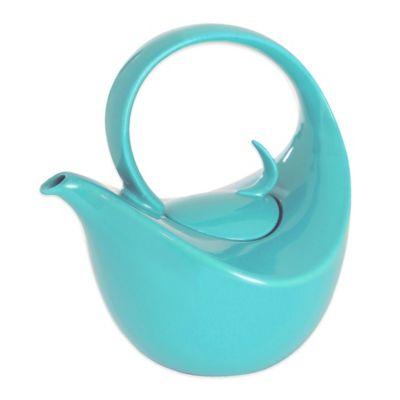 Chantal® 0.75 qt. Olivia Teapot in Aqua