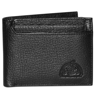 Dopp SoHo RFID-Blocking Leather Thinfold Wallet in Black