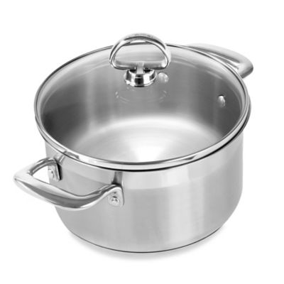 Chantal® Induction 21 Steel™ 2 qt. Covered Soup Pot