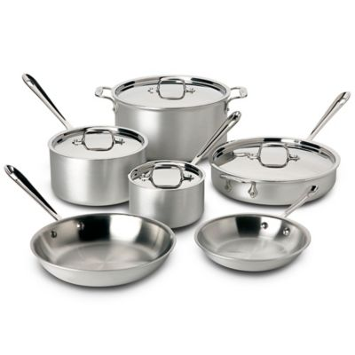 All Clad Master Chef Cookware