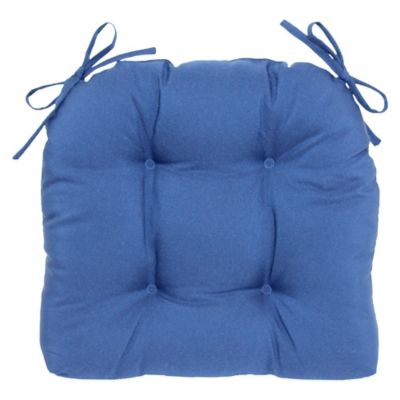 Oceano Waterfall Chair Pad in Navy