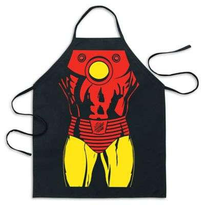 ICUP Marvel® Iron Man Be The Hero Apron in Black