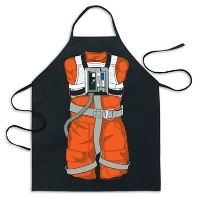 ICUP Luke Skywalker™ X-Wing Pilot Character Apron in Black