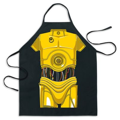 ICUP Star Wars™ C-3PO™ Be The Character Apron in Black