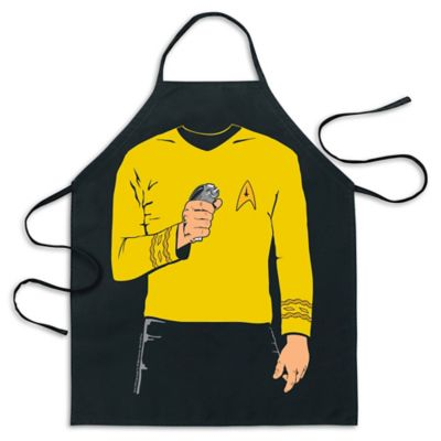 ICUP Star Trek™ Captain Kirk Be The Character Apron in Black