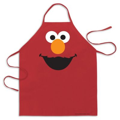 ICUP Sesame Street® Elmo Big Face Apron in Red