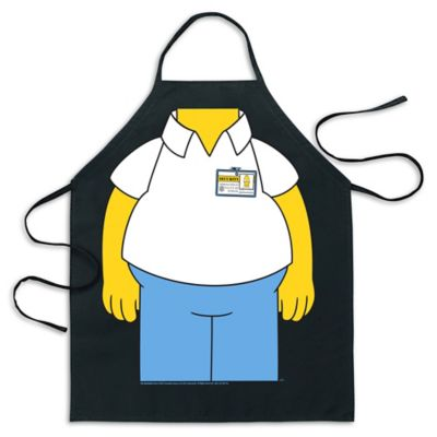 "ICUP Simpsons ""Be the Homer"" Apron in Black"