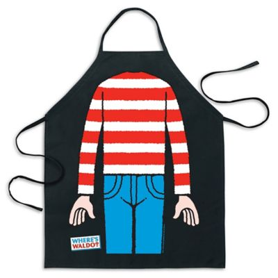 "ICUP ""Where's Waldo?"" Be The Character Apron in Black"