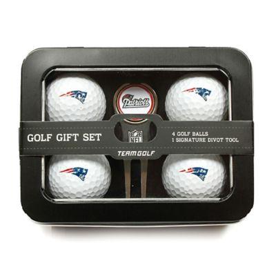 NFL New England Patriots 5-Piece Golf Ball and Divot Tool Set