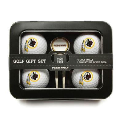NFL Washington Redskins 5-Piece Golf Ball and Divot Tool Set