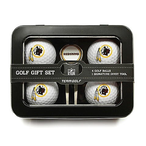 buy nfl washington redskins 5 piece golf ball and divot tool set from bed bath beyond. Black Bedroom Furniture Sets. Home Design Ideas