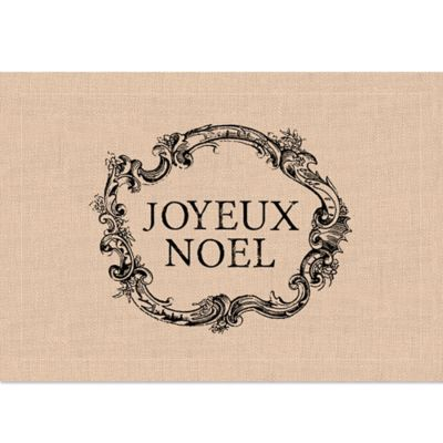 Heritage Lace® Holiday Joyeux Noel Placemat