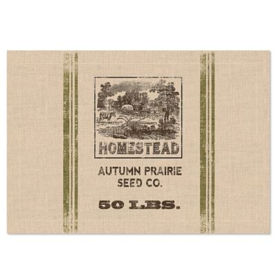 Heritage Lace® Seed Labels Homestead Placemat