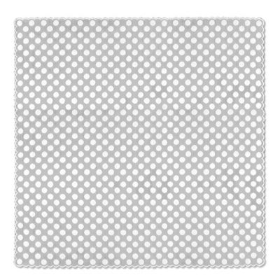 Heritage Lace® Polka Dot 58-Inch Table Topper in White