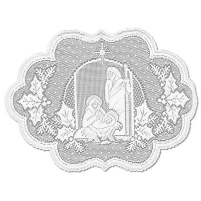 Heritage Lace® Silent Night Placemat in White