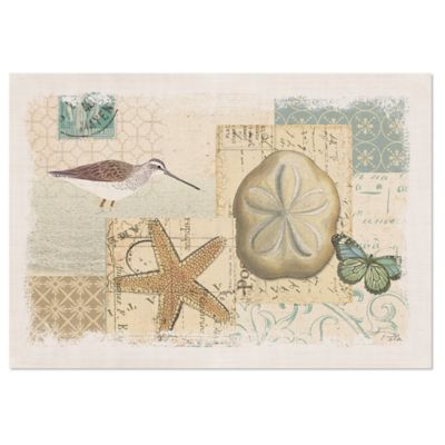 Heritage Lace® Shorebirds Placemat in Oyster