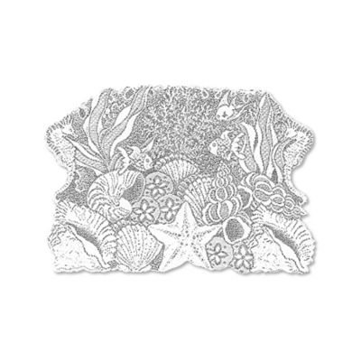 Heritage Lace® Seascape Placemat in White