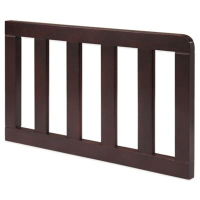 Delta Manhattan Wood Toddler Guard Rail in Dark Chocolate