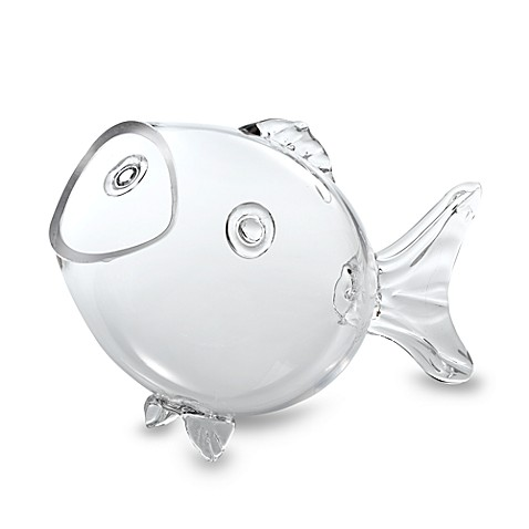 Home Essentials & Beyond Glass Fish Bowl