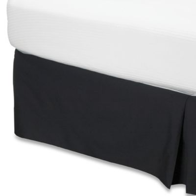 Smoothweave™ King Bed Skirt in Black