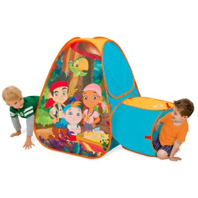 Disney® Jake and the Never Land Pirates Hide About Play Tent with Tunnel