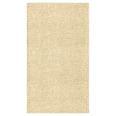 Jute Natural 12-Count Paper Linen Guest Towels