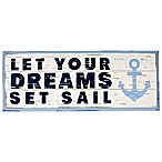 Nautica Kids® Mix & Match  Let Your Dreams Set Sail  Wall Décor