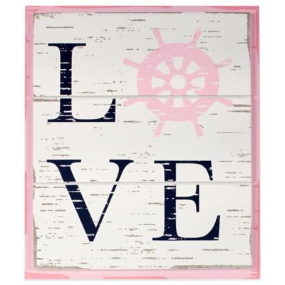 "Nautica Kids® Mix & Match ""Love"" Wall Décor"