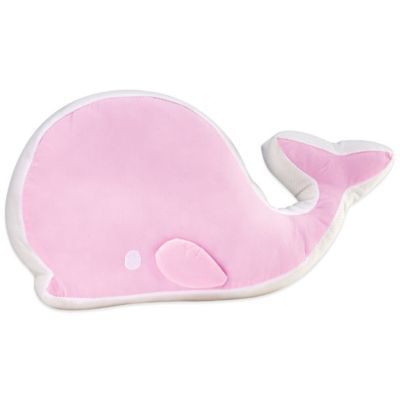 Nautica Kids® Mix & Match Whale Throw Pillow in Pink
