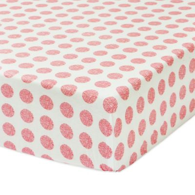 Petit Nest™ Chloe Punch Dot Fitted Crib Sheet