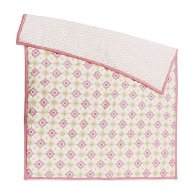 Petit Nest™ Penelope Multi-Flower Reversible Coverlet