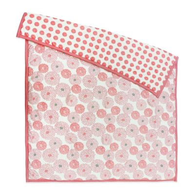 Petit Nest™ Chloe Punch Flower Reversible Coverlet