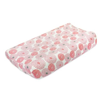 Petit Nest™ Chloe Punch Flower Changing Pad Cover