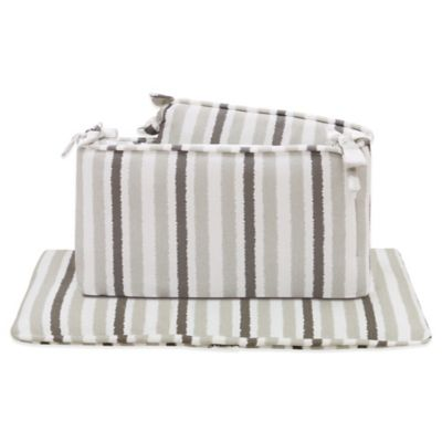 Petit Nest™ Sydney 4-Piece Striped Crib Bumper