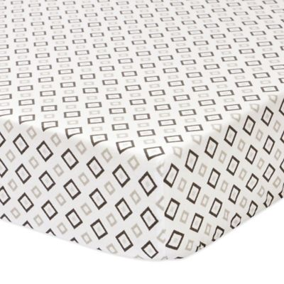 Petit Nest™ Sydney Geo Print Fitted Crib Sheet